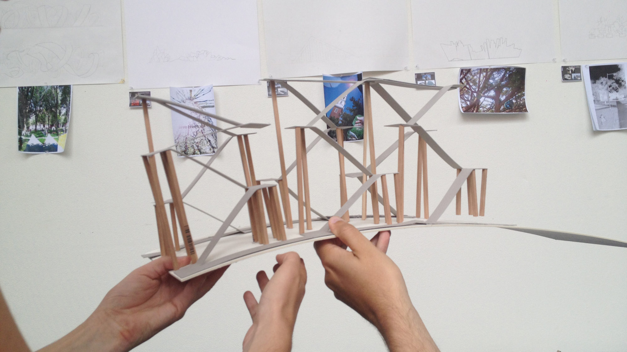Holding architecture model