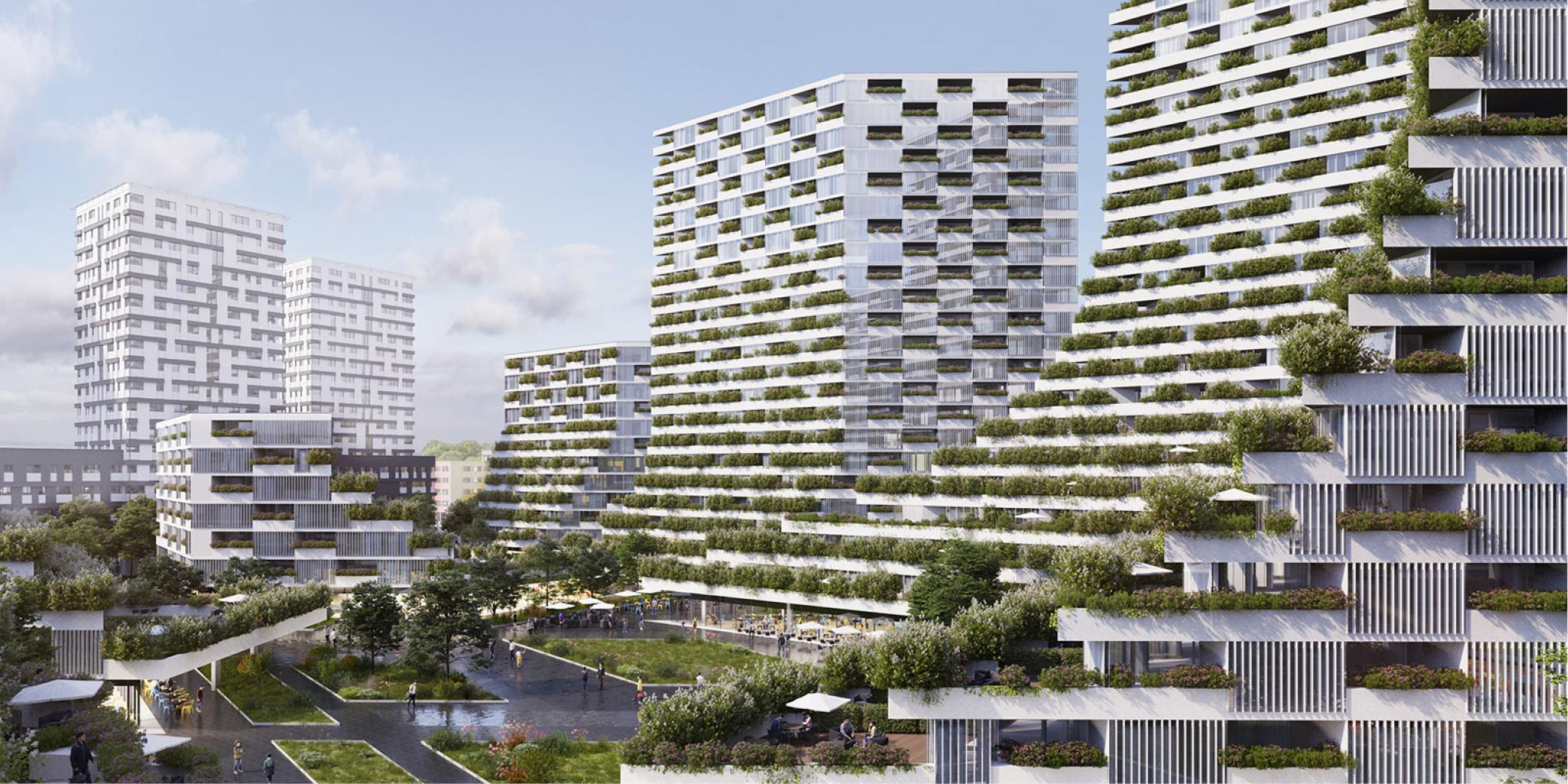 OCA-architects-Barcelona-Prague-House-of-Arboretum-residential-housing-project-Hernan-Lleida-Ruiz-Bernardo-Garcia-Morales-1